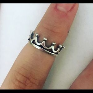 Jewelry - Pure Royalty Silver Crown Ring